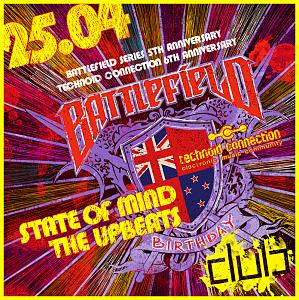 BATTLEFIELD BIRTHDAY :: STATE OF MIND VS. THE UPBEATS @ DUBCLUB