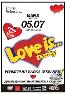 LOVE IS... PARTY